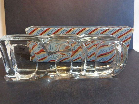 Dads Pride and Joy Avon Paper Weight Glass by BerningsBargains, $14.99