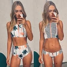 Resultado De Imagen Para Semi Hilo Talle Alto Bikini De Cuello