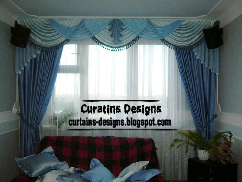Modern Blue Curtain And Draperies For Living Room Blue Sheer Captivating Blue Curtain Designs Living Room Design Inspiration