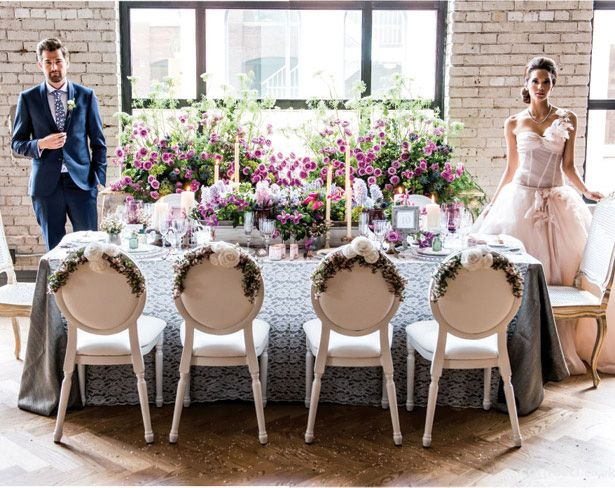 Get The Look New Vintage Wedding Decor