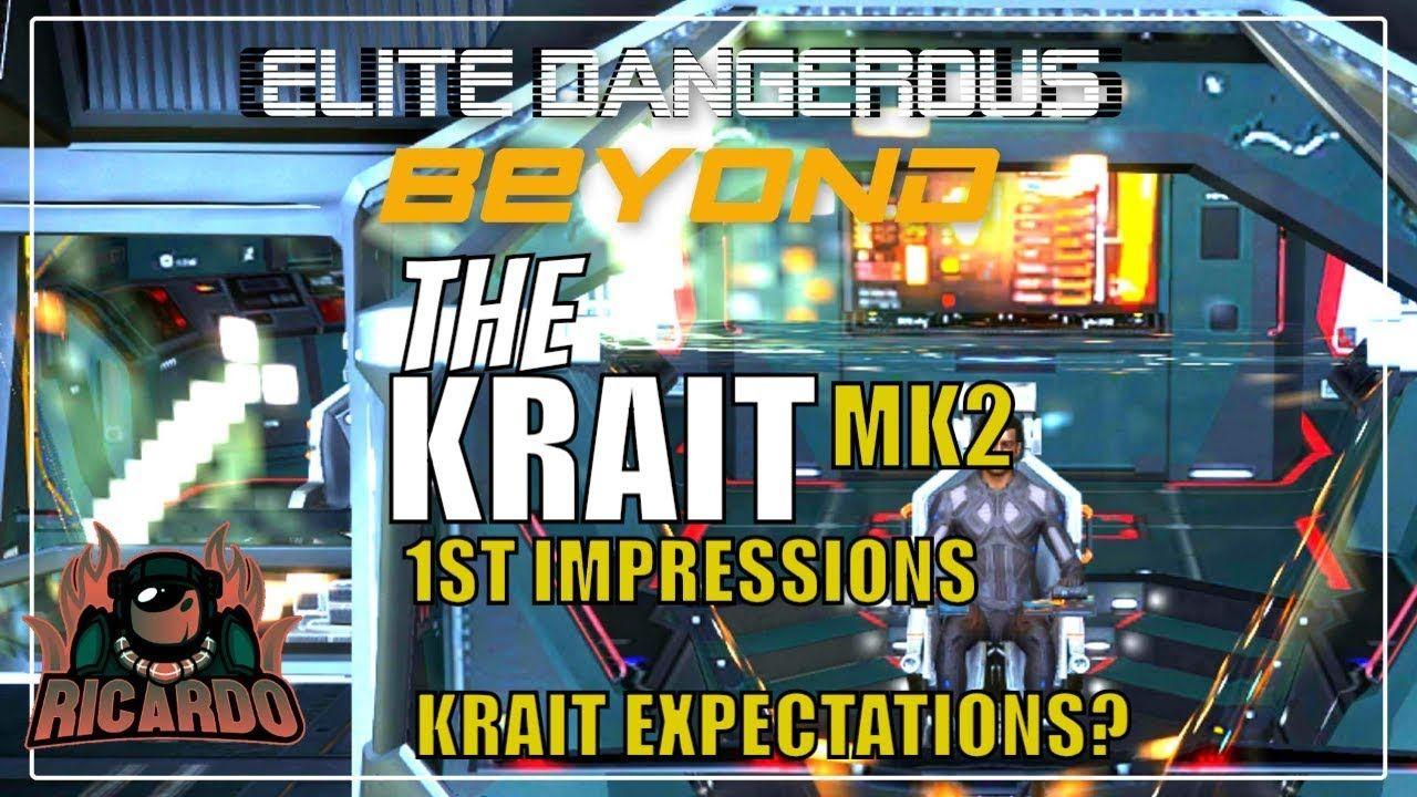 Elite: Dangerous Krait MK2 1st Impressions Good and Bad | Elite
