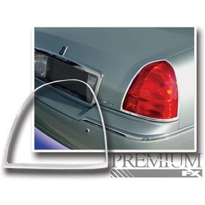Premium Fx Chrome Tail Light Bezels For 2003 2011 Lincoln Town Car