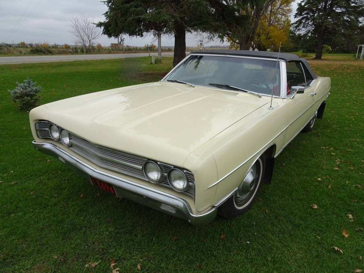 1969 ford galaxie 500 2dr convertible