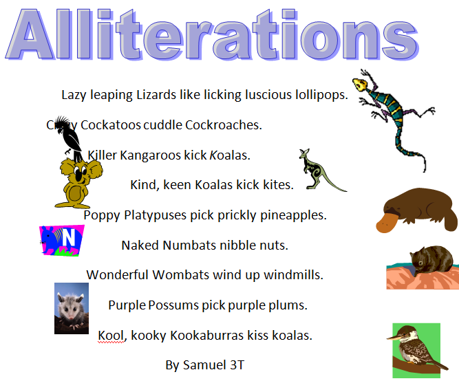 Alliteration Poems Related Keywords & Suggestions - Alliteration Poems ...