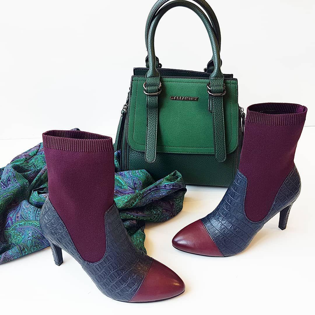 Skorzane Botki Tamaris Ze Skarpeta By Marcel Ostertag Tamaris Marcelostertag Fashion Must Musthaveit Bordoux Greenhandbag Bootie Shoes Boots Ankle Boot