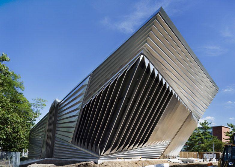 Zaha Hadid 39 S Eli And Edythe Broad Art Museum Unveiled Art Museum Museums And Zaha Hadid