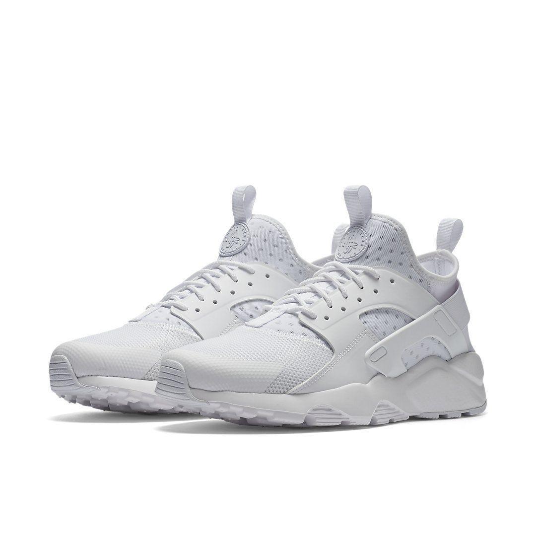 cb3e50835fd9 Nike Air Huarache Ultra Triple White   819685-101   Mens NK Foam Mesh Air -Sole