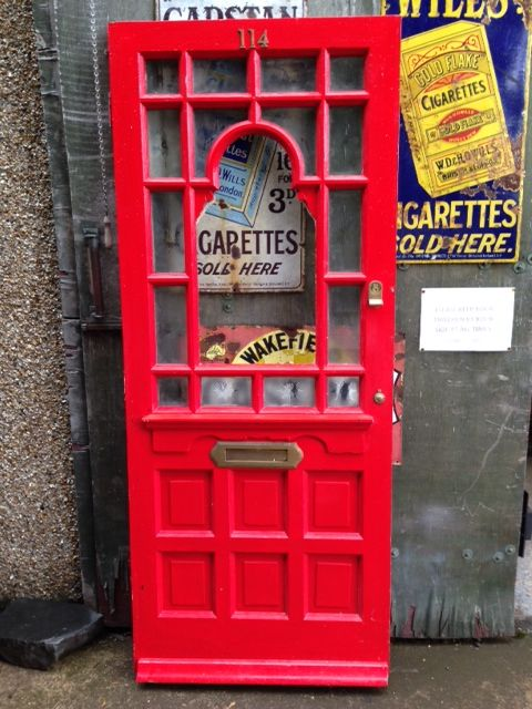 Beautiful reclaimed Edwardian Front Door D8889   H O M E   Pinterest ...