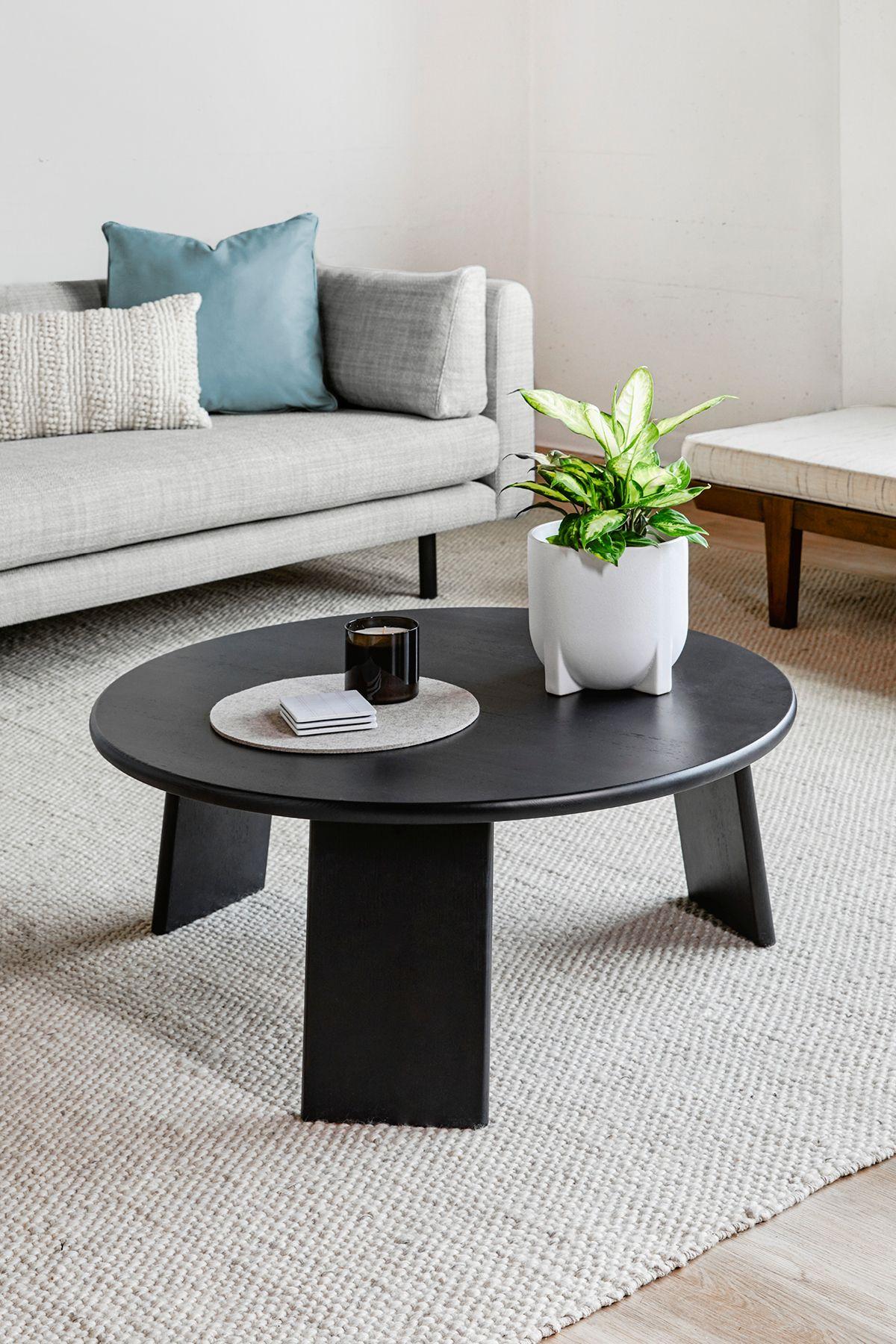 Uddo Ash Coffee Table Coffee Table Mid Century Modern Coffee Table Living Room Decor Furniture [ 1800 x 1200 Pixel ]