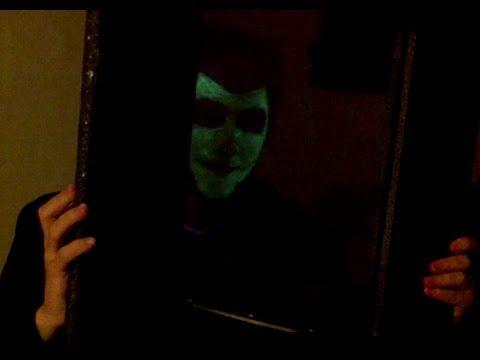 How to make a Magic Mirror LED Halloween Costume - YouTube