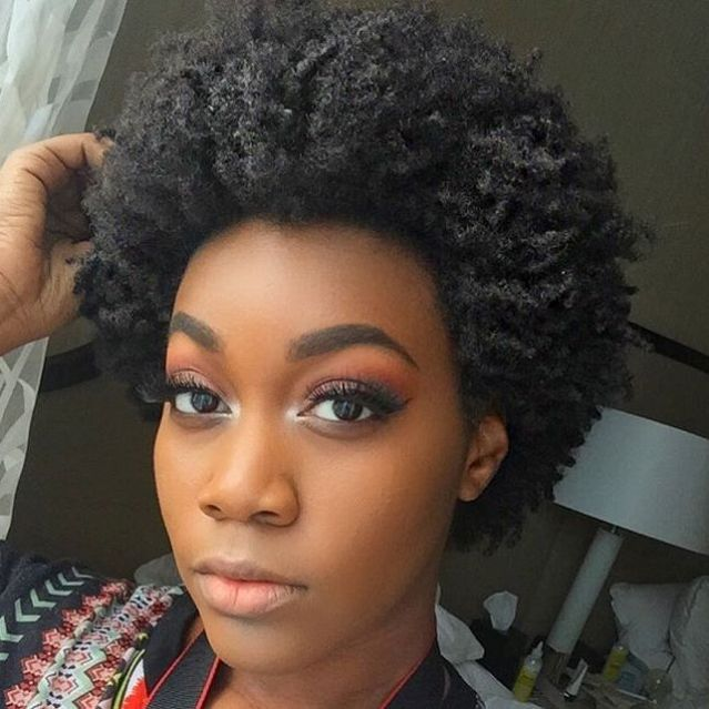 75 Most Inspiring Natural Hairstyles For Short Hair Natural Afro Hairstyles Short Afro Hairstyles Short Natural Hair Styles