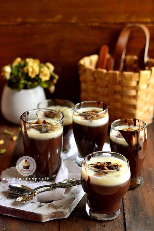 Momylicious Best Silky Chocolate Pudding A La Smitten Kitchen Makanan Manis Makanan Penutup Puding Coklat