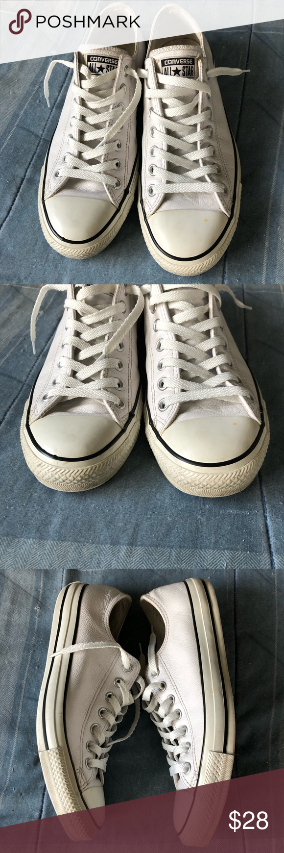 Converse Chuck Taylors Tumbled Leather