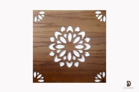 إذا كنت من محبي البساطة فقد يكون هذا التابلوه الأنسب لك تابلوه مودرن في غاية البساطة من حيث التصميم من التابلوهات التي تعطي الغرفة الطيف الهادئ التصميم ع Wood