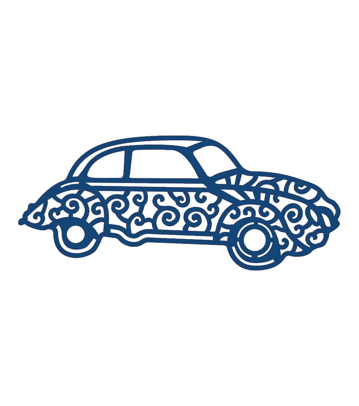 Tattered Lace Metal Die-Classic Car | Autos