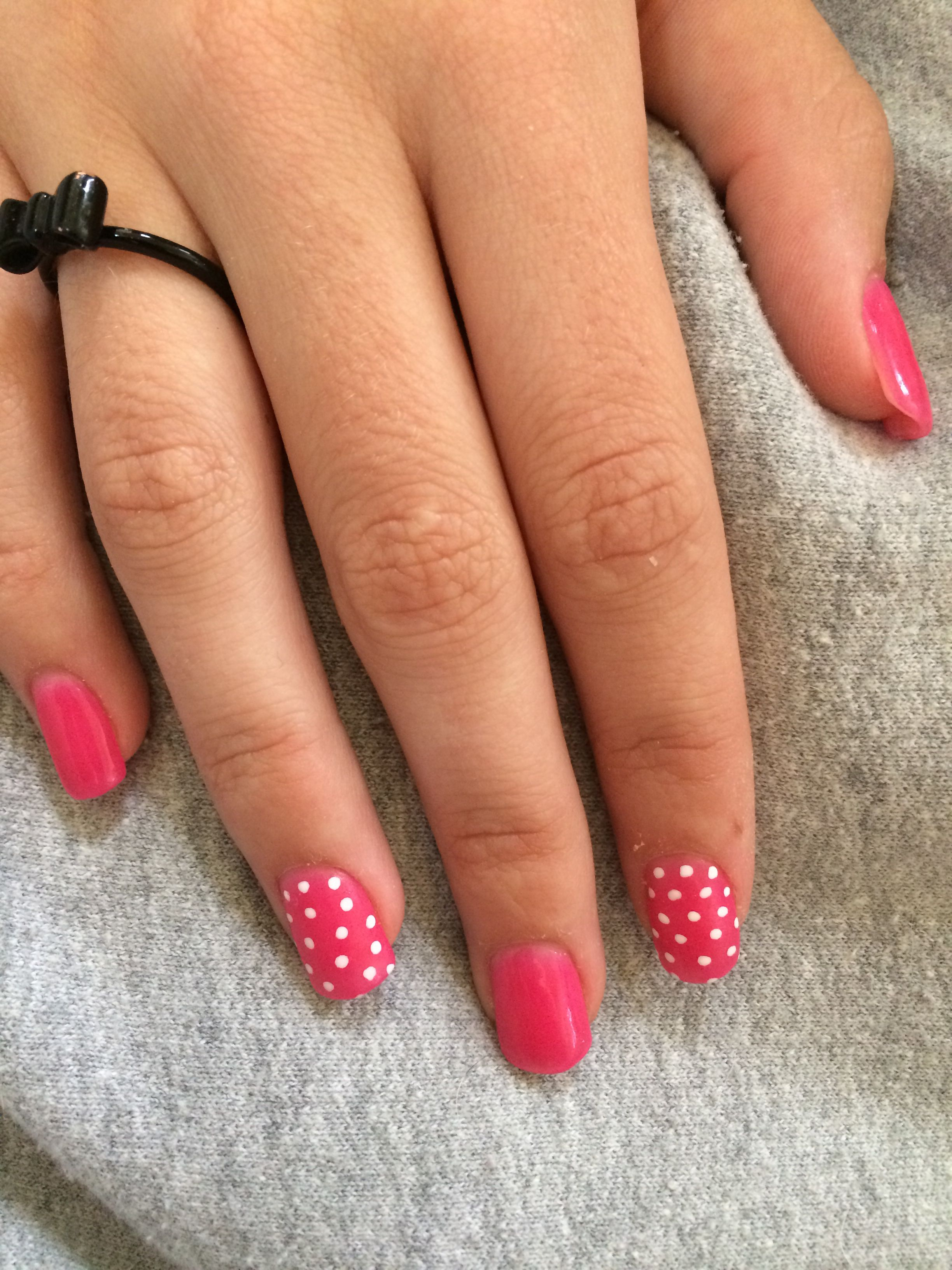 New color Tulip ANC. Amazing Nail Concepts done by Basha at Lighten ...