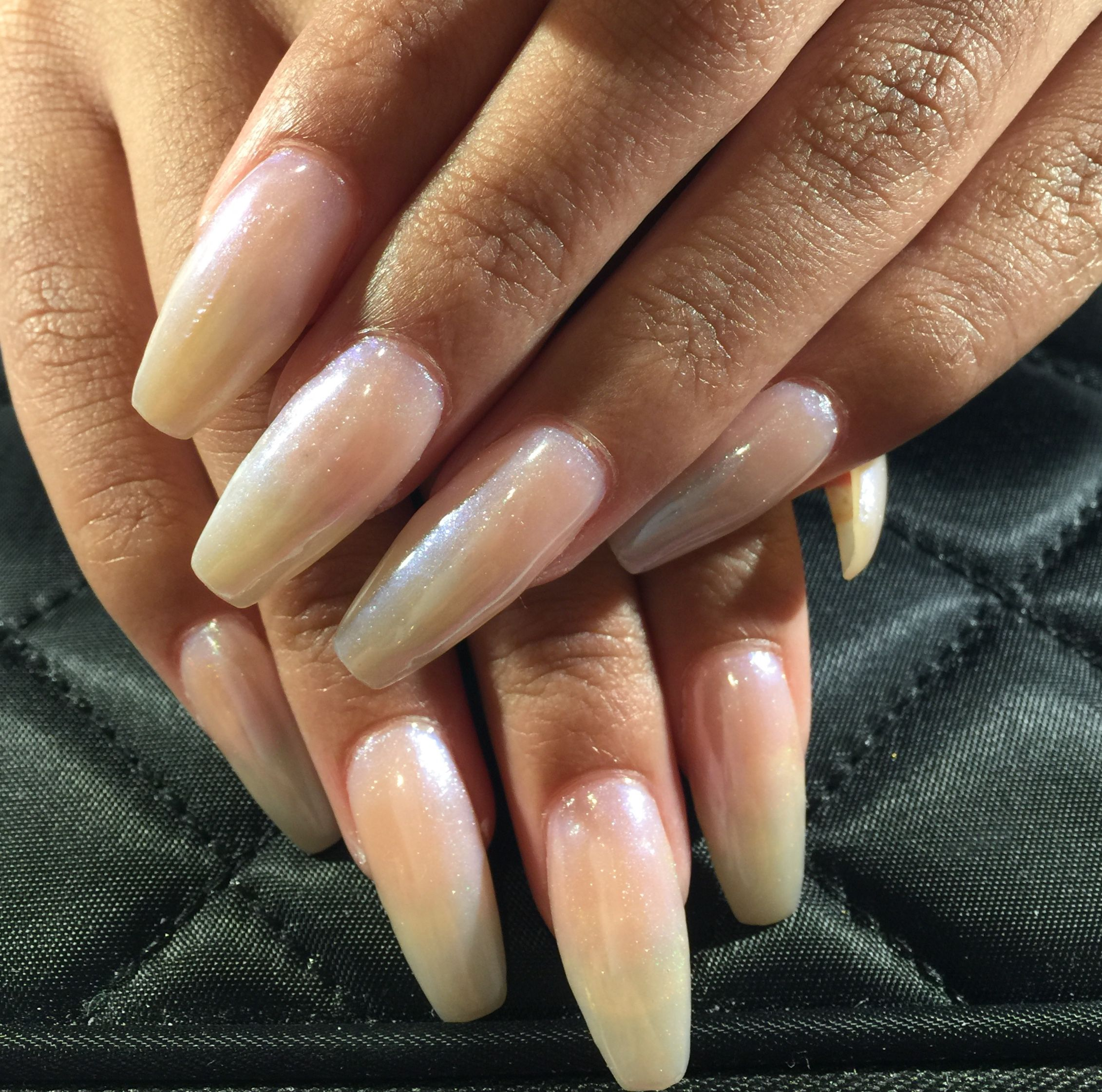 "Plain Acrylic Fill Ins w/Polish only"". Acrylic fill ins for my ..."