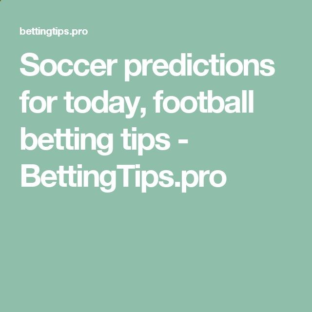 free soccer betting predictions for today