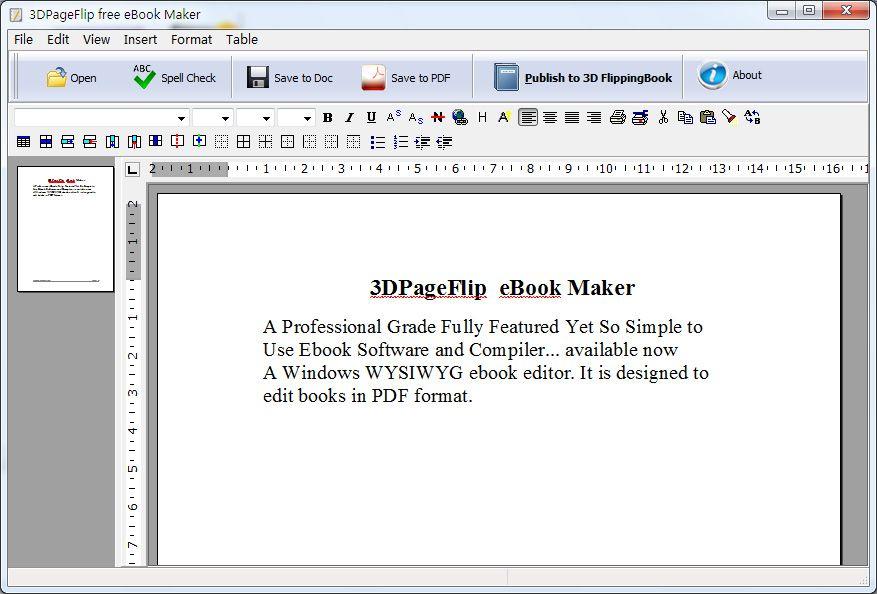 3DPageFlip Free eBook creator Tools 100 Freeware to