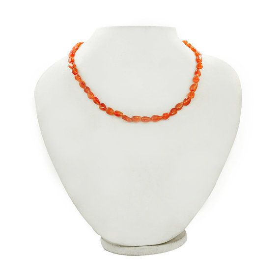 Carnelian Beads line Natural Beads Lines Almost by DevmuktiJewels