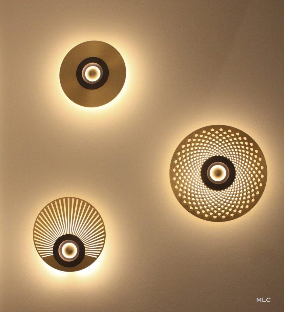 Les Nouvelles Appliques Et Suspensions Design Laiton Et Cuivre Luminaire Applique Murale Appliques Murales Art Deco Luminaire Applique