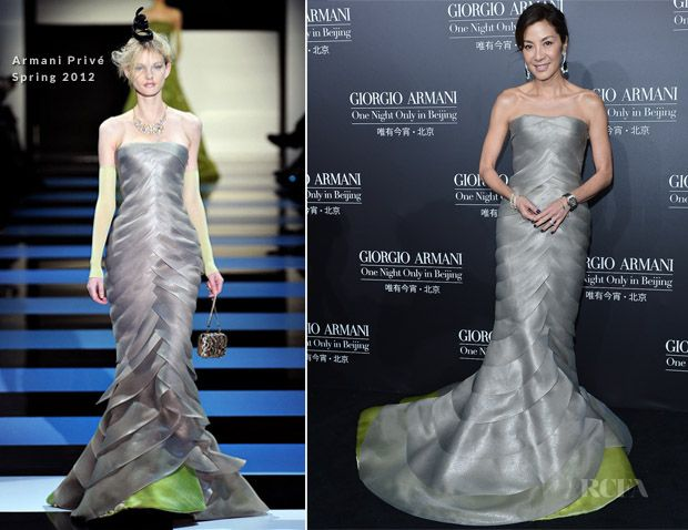 Evening dresses by armani