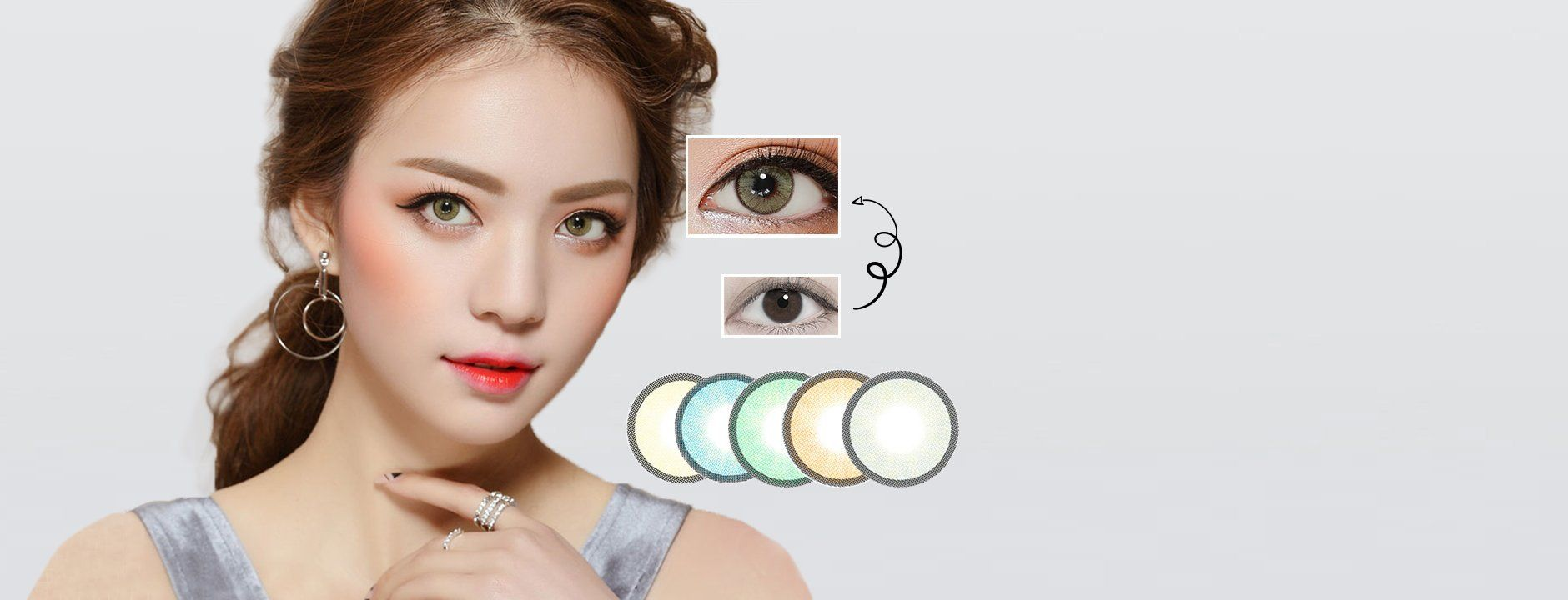 Best Coloured Contacts | Circle Lenses | Color Contacts | EyeCandys #coloredeyecontacts