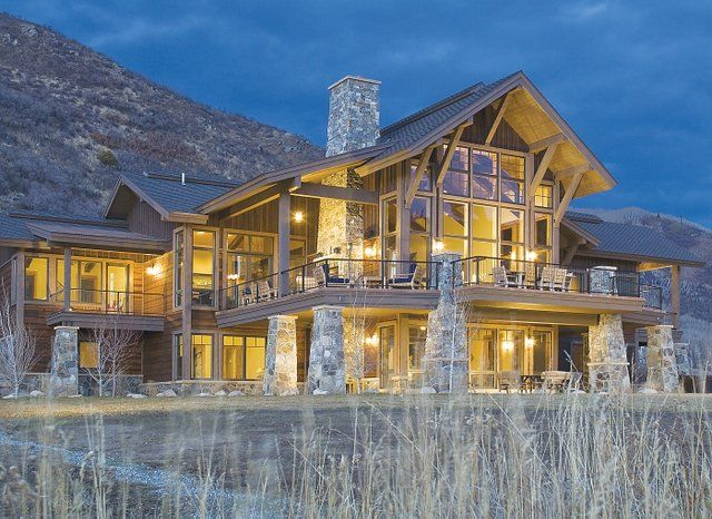 Colorado style homes google search exterior views new for Colorado country homes
