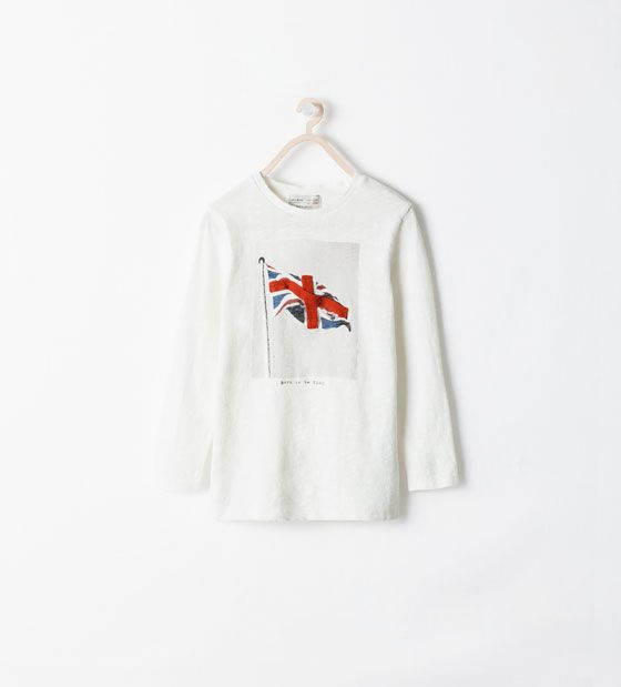 ZARA - KIDS - RAISED TRAY T-SHIRT