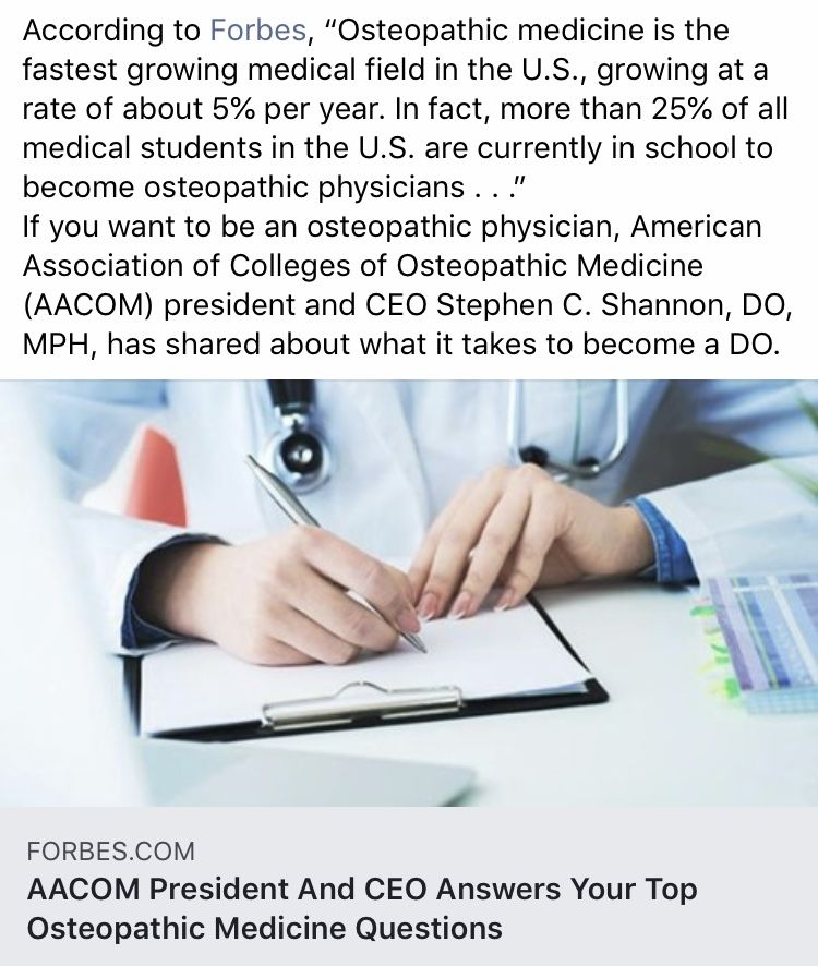 President And CEO Answers Your Top Osteopathic