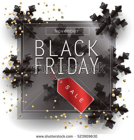 Black Friday Sale Poster Design Template Vector Black Friday