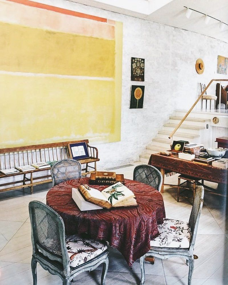 génial  Mot-Clé An enormous Rothko c 32 dominates the interior of Bunny Mellon's ...