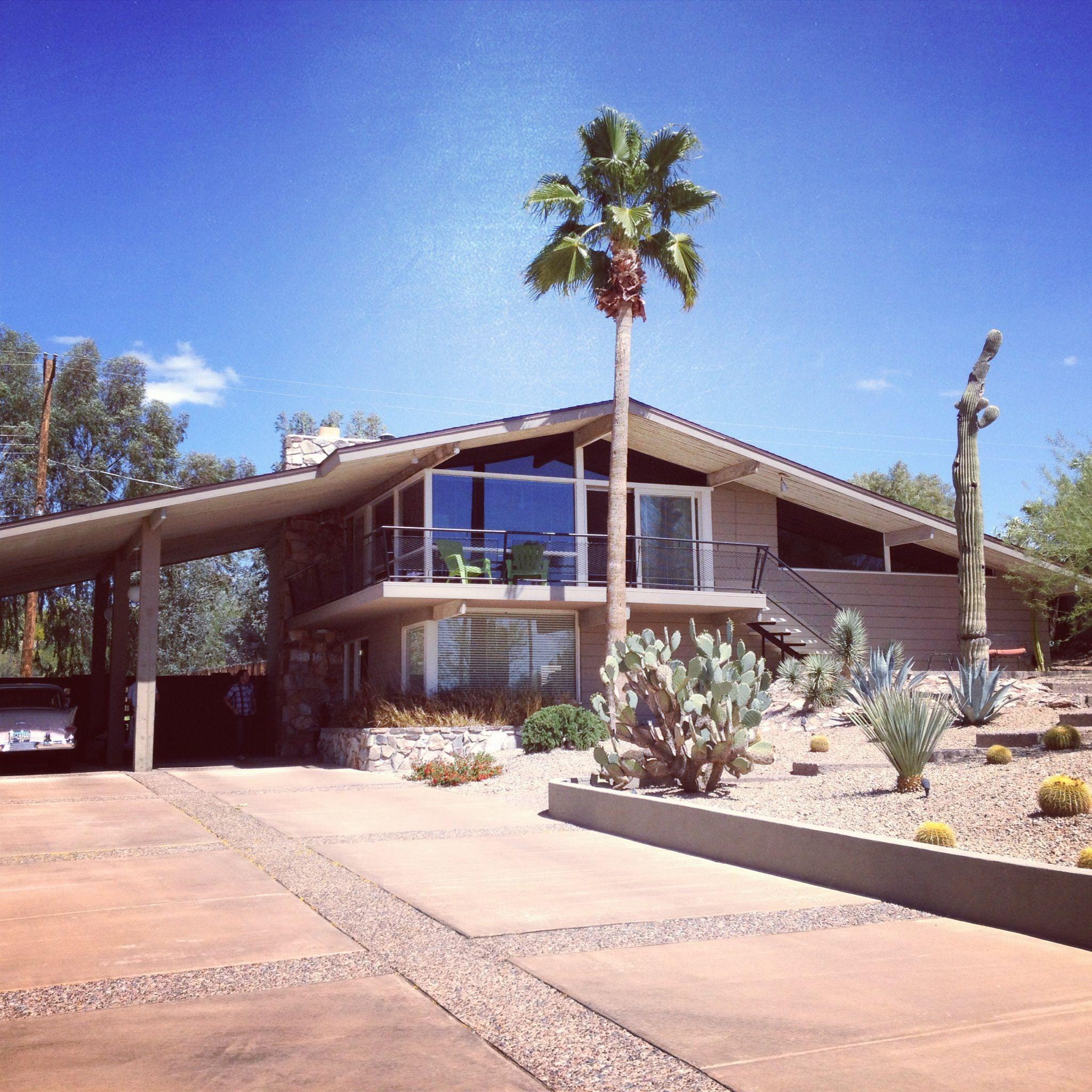 Rancho Mirage Apartments: Split-level #midcentury Modern Home In Phoenix #modernism
