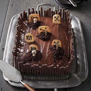 Halloween Cake Recipes Country Living Halloween Desserts Delish