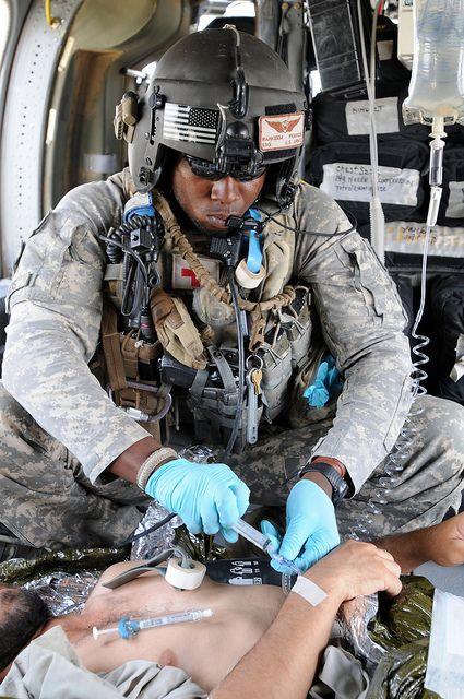 Army flight medic mos