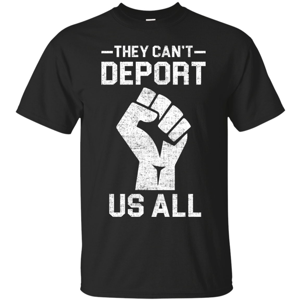 Nobannowall They Cant Deport Us All Shirt Hoodie Tank sold by iFrogtees