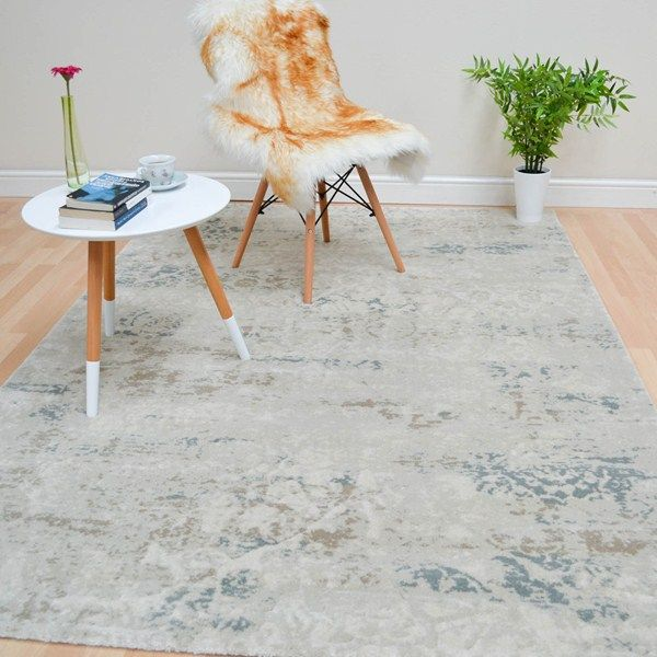 Xico Faded Medallion Rugs Xi02 In Blue Buy Online From The Rug Seller Uk Medallion Rug Rugs Traditional Design