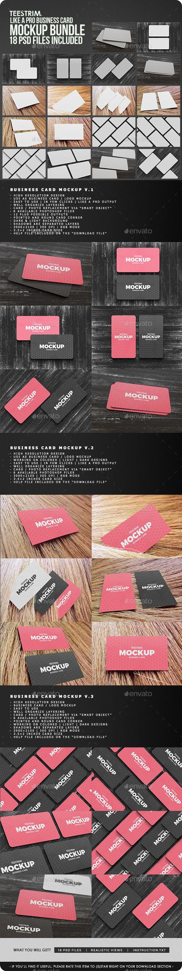 18 in 1 business card mock up bundle v1 mockup business cards 18 in 1 business card mock up bundle v1 reheart Images