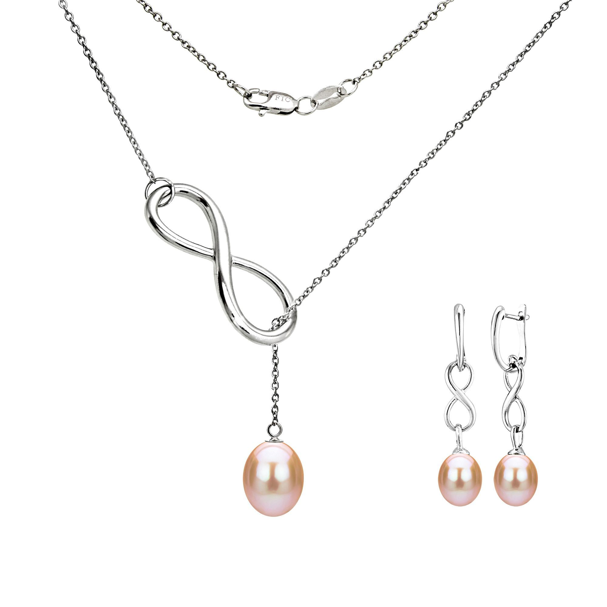 for pearl dainty silver shades of freshwater aaa pink fullsizerender women floating pearls sterling simple chain three with pendant necklace products