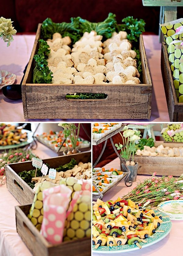 Food Ideas For The Bridal Shower