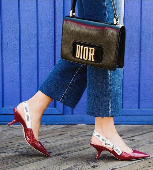 89b85ff33c8 Style Crush: Dior J'Adior Slingback Pumps | Shoes | Designer shoes ...