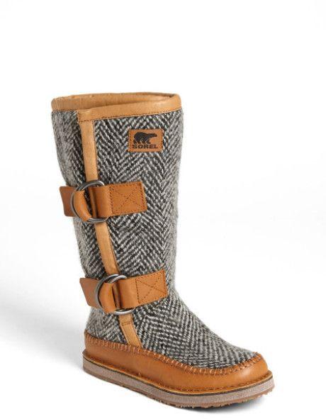 13108b6cc8c Sorel Chipahko Wool Blend Boot in Brown (Elk) - Lyst. There is just ...