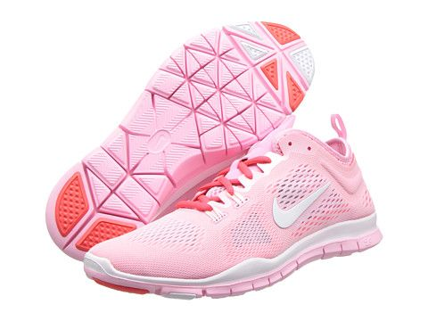 official photos a9d64 851a5 Nike Free 5.0 TR Fit 4 Breathe Perfect Pink Laser Crimson White -  Zappos.com Free Shipping BOTH Ways