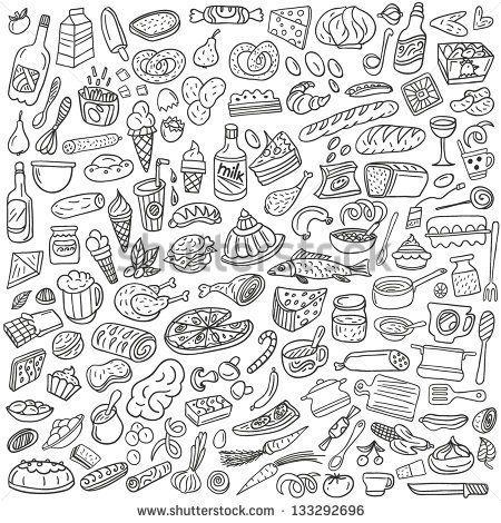 Related Image Doodles Doodle Lettering Food Doodles