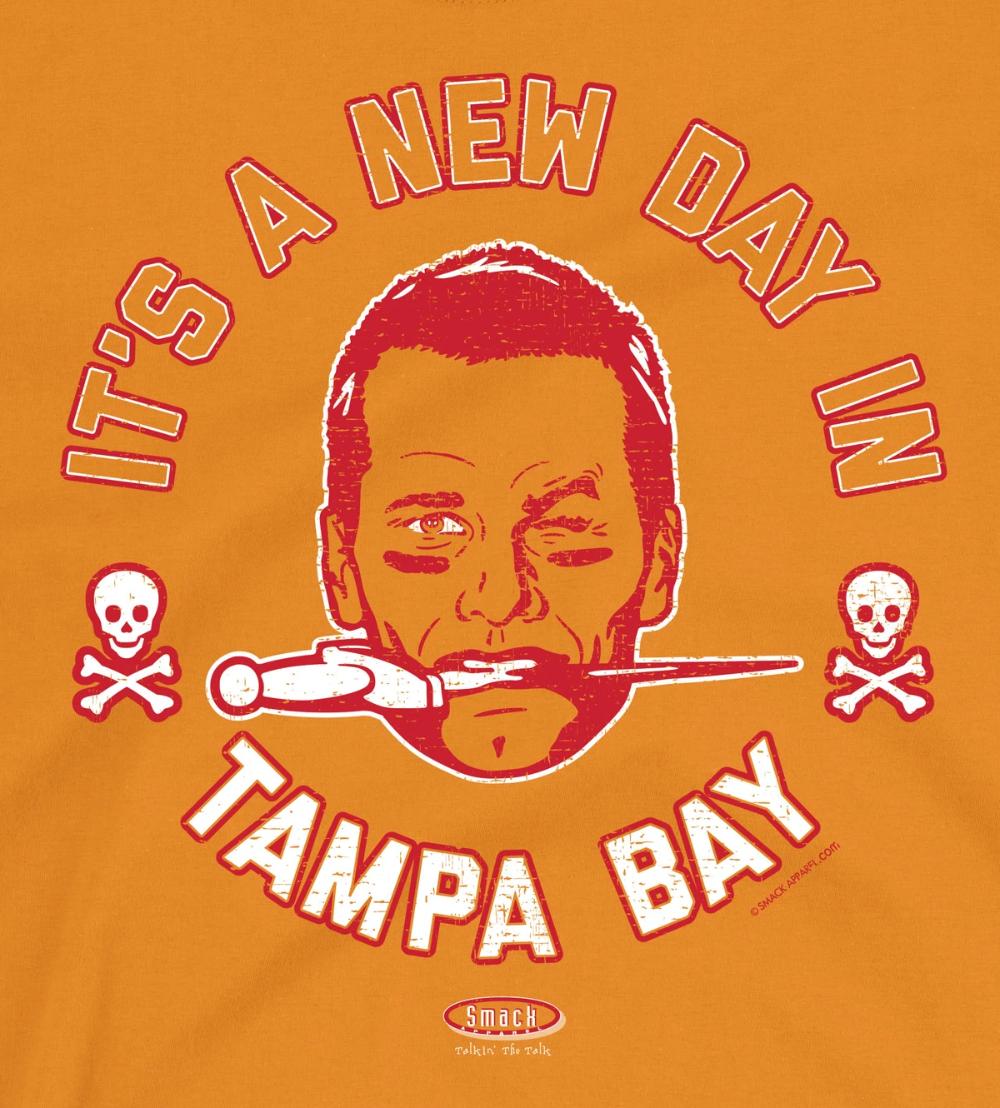 Tampa Bay Buccaneers Fans Bucco Brady New Day Tampa Bay Football Shirt In 2020 Tampa Bay Buccaneers Tampa Bay Tampa Bay Football
