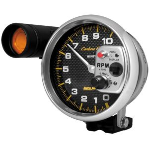 auto meter pedestal mount tachs with shift light