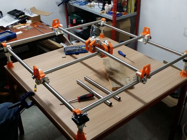 Mostly printed cnc machine  | Mostly Printed CNC - by Allted