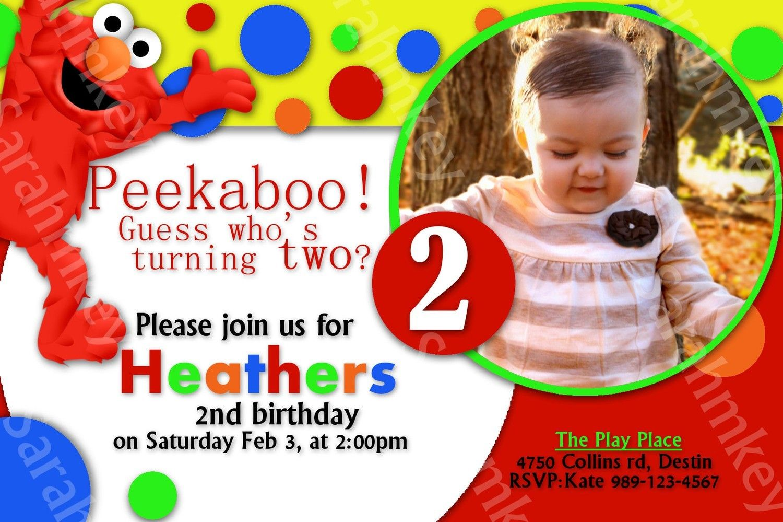 Elmo Birthday Invitations Printable Free Zanes Elmo Party