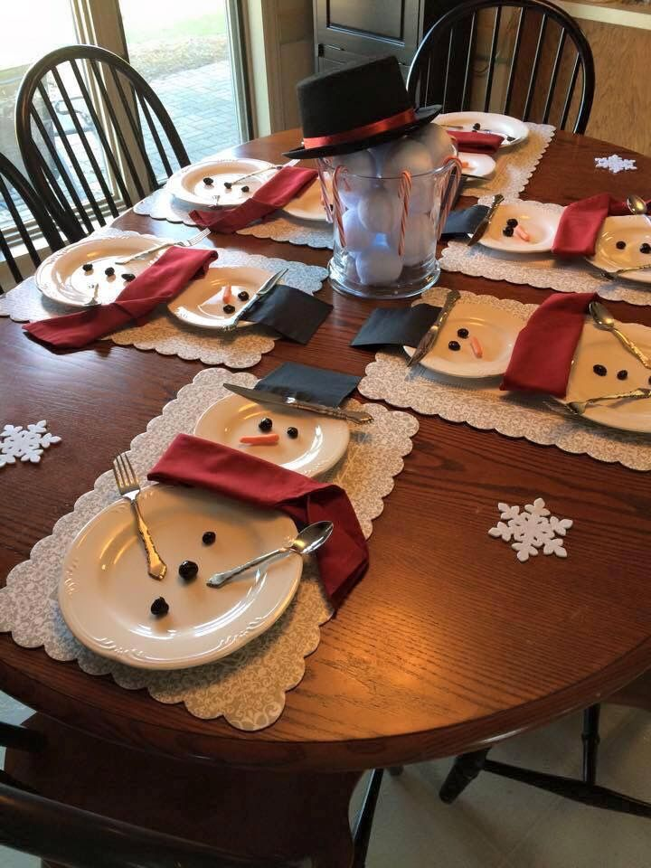 Pin by Tina Hedin on julpyssel Pinterest Christmas table