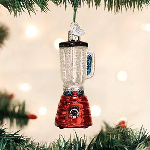 Old World Christmas Blender Glass Blown Ornament Christmas